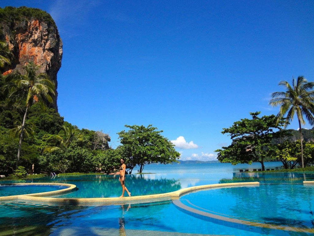 Rayavadee Resort Railay Krabi Thailand romantic honeymoon
